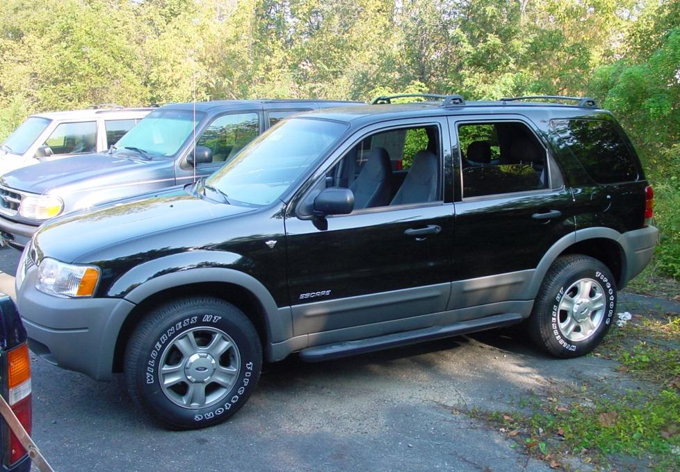 2001 Ford Escape Information And Photos Momentcar