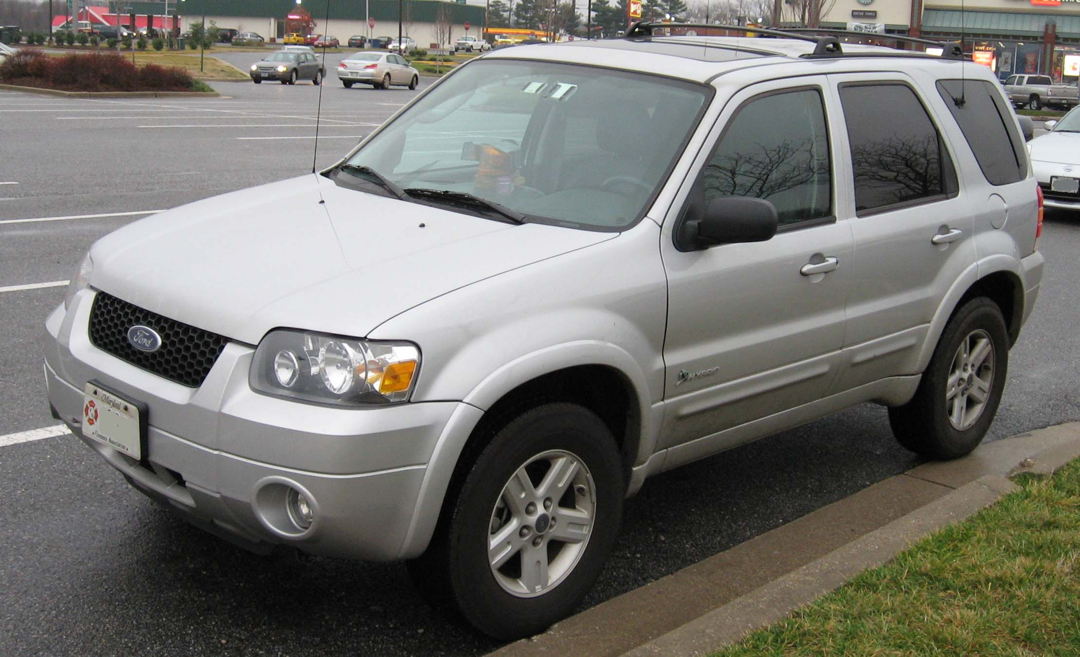 2007 ford escape information and photos momentcar. Black Bedroom Furniture Sets. Home Design Ideas