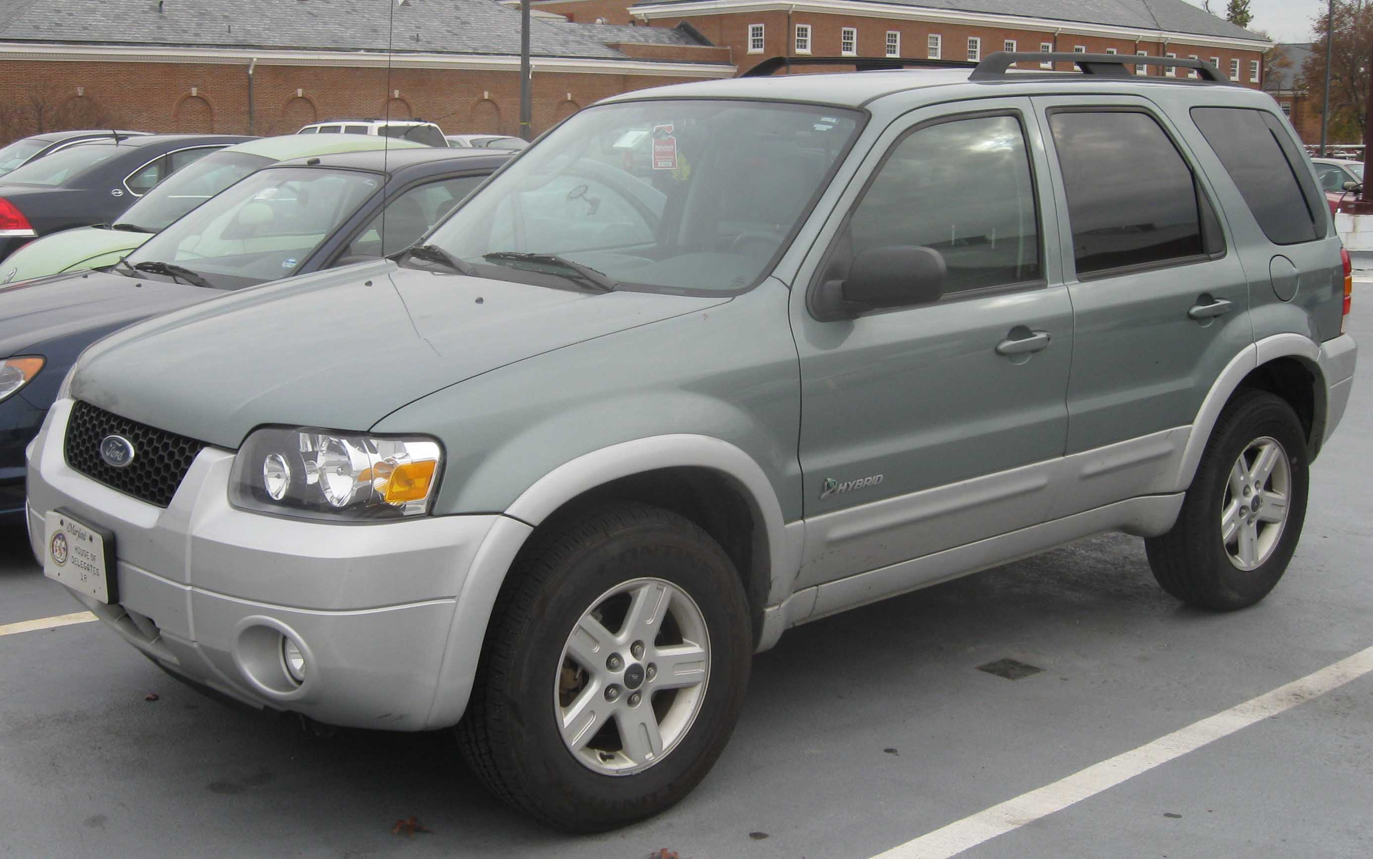 Ford Escape Hybrid 2007 #2