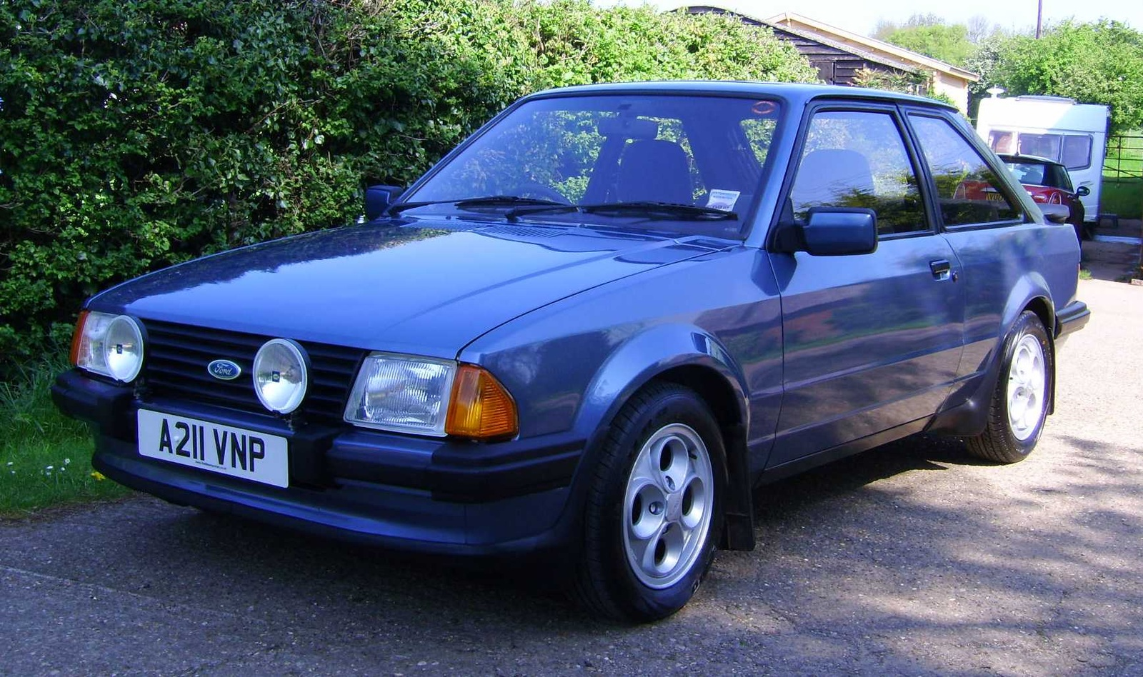 1983 Ford Escort Information And Photos Momentcar