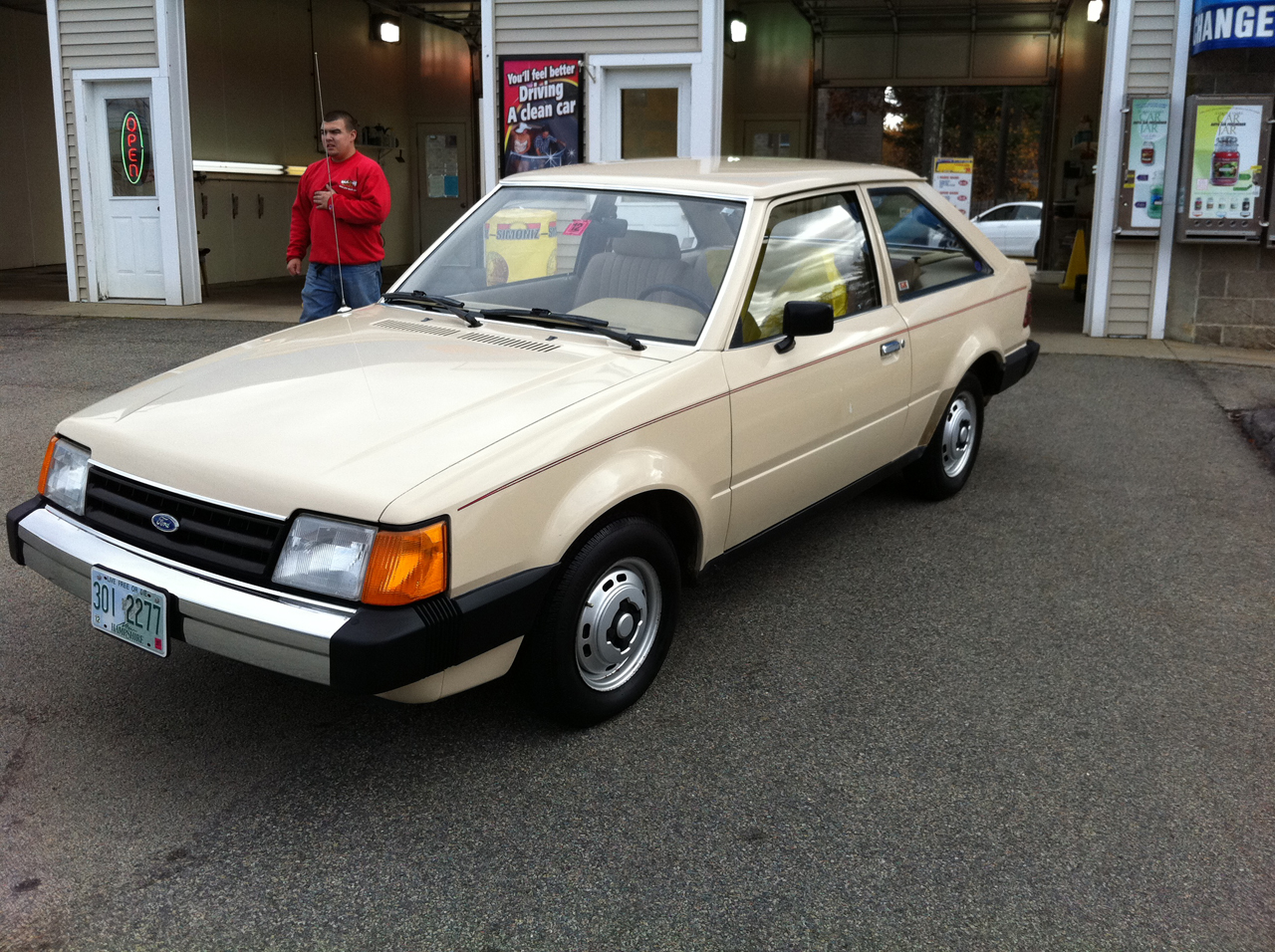 1985 Ford Escort Information And Photos Momentcar