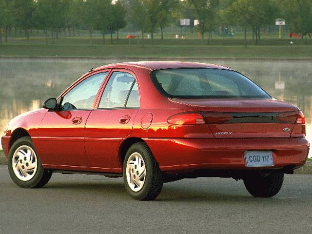 1999 Ford Escort Information And Photos Momentcar