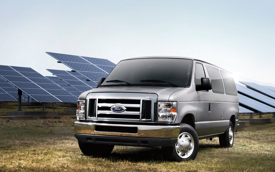 Ford E-Series Van 2014 #9