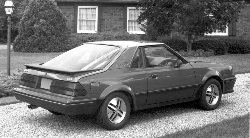 1984 Ford Exp Information And Photos Momentcar