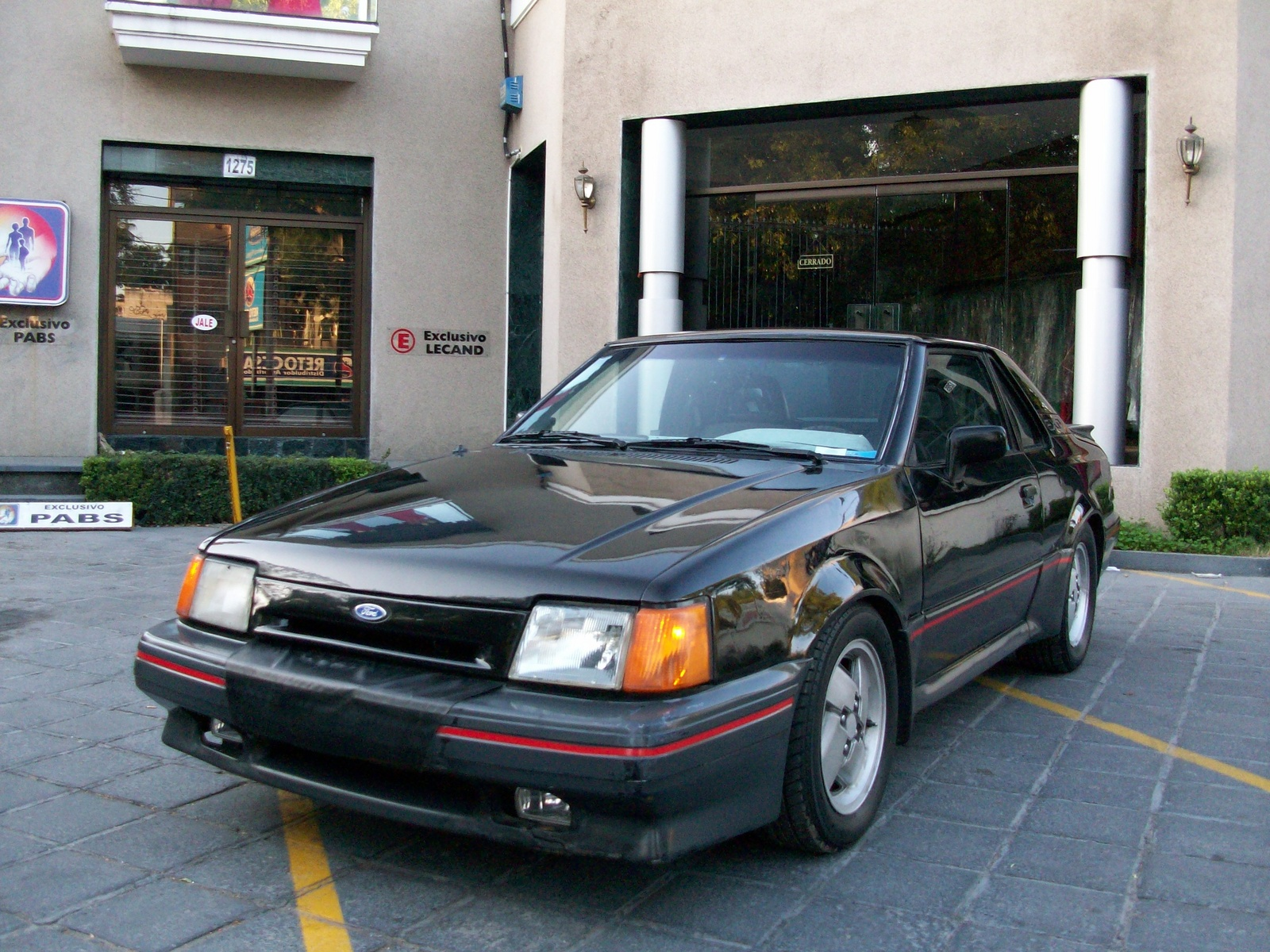 1986 Ford EXP - Information and photos - MOMENTcar