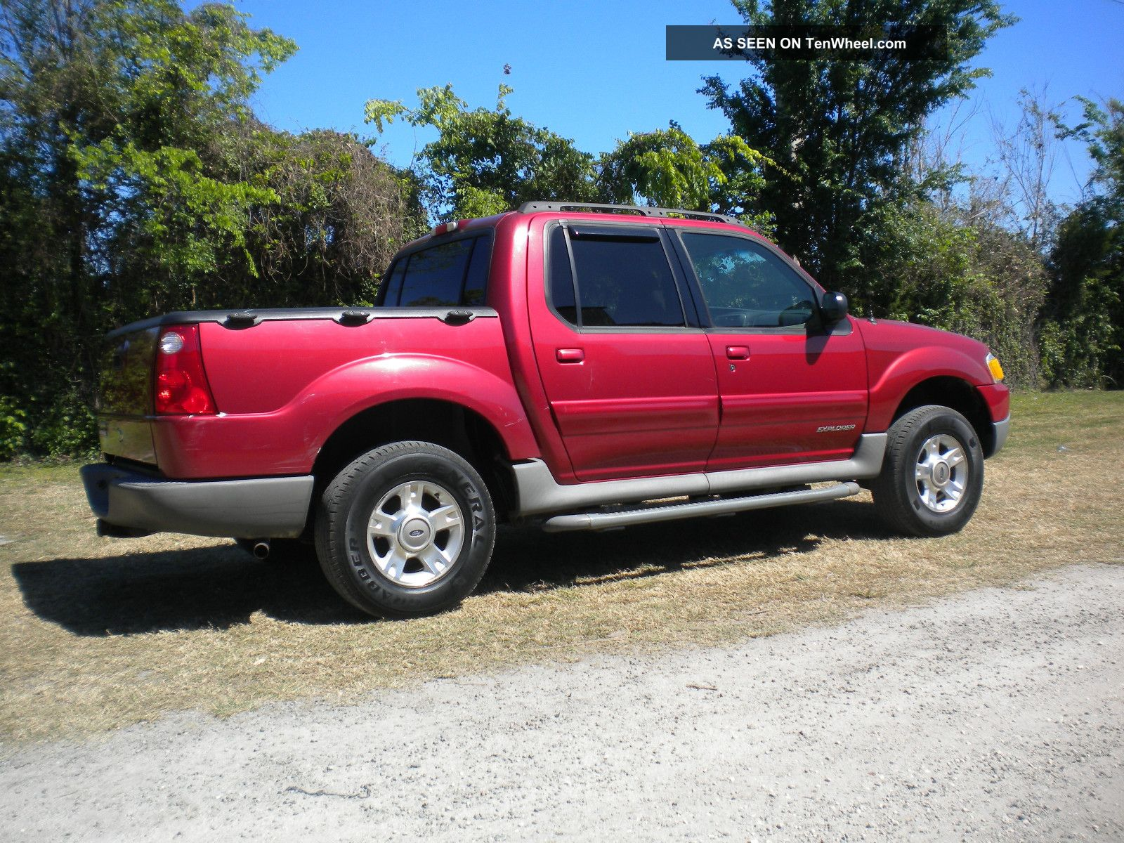 Ford Explorer Sport Trac 2001 #5