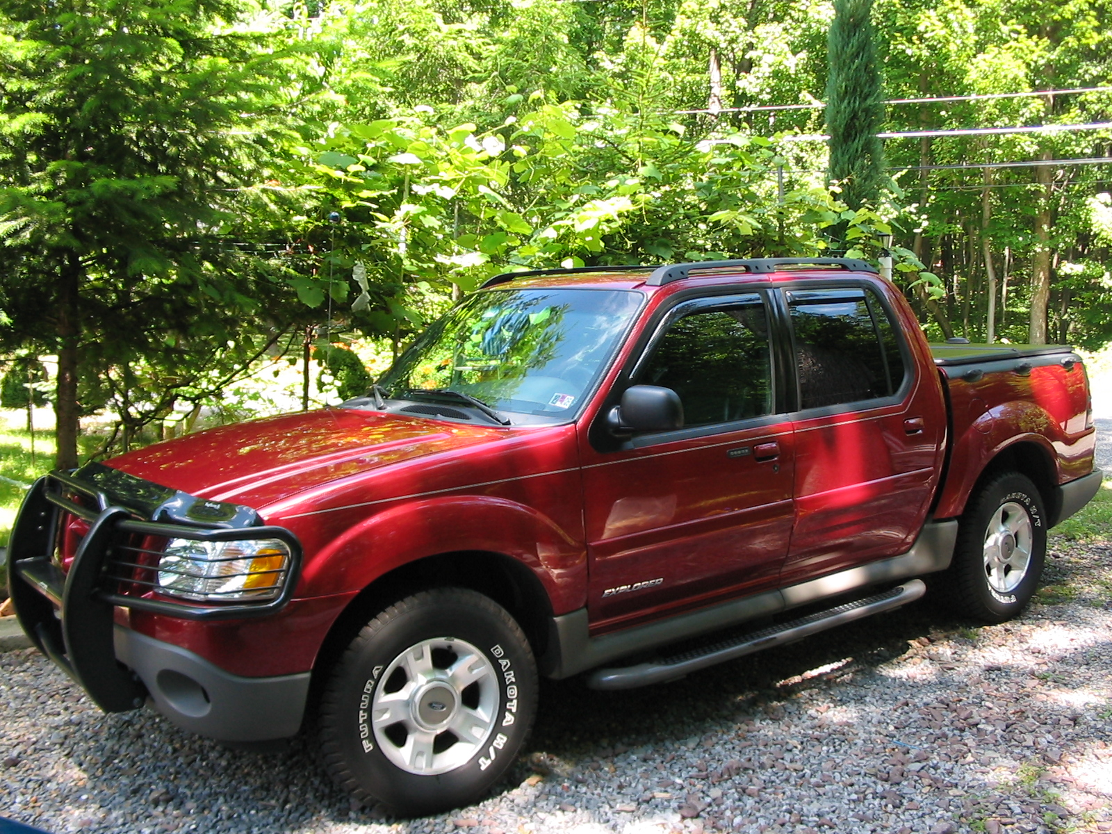 2002 ford explorer sport trac information and photos. Black Bedroom Furniture Sets. Home Design Ideas
