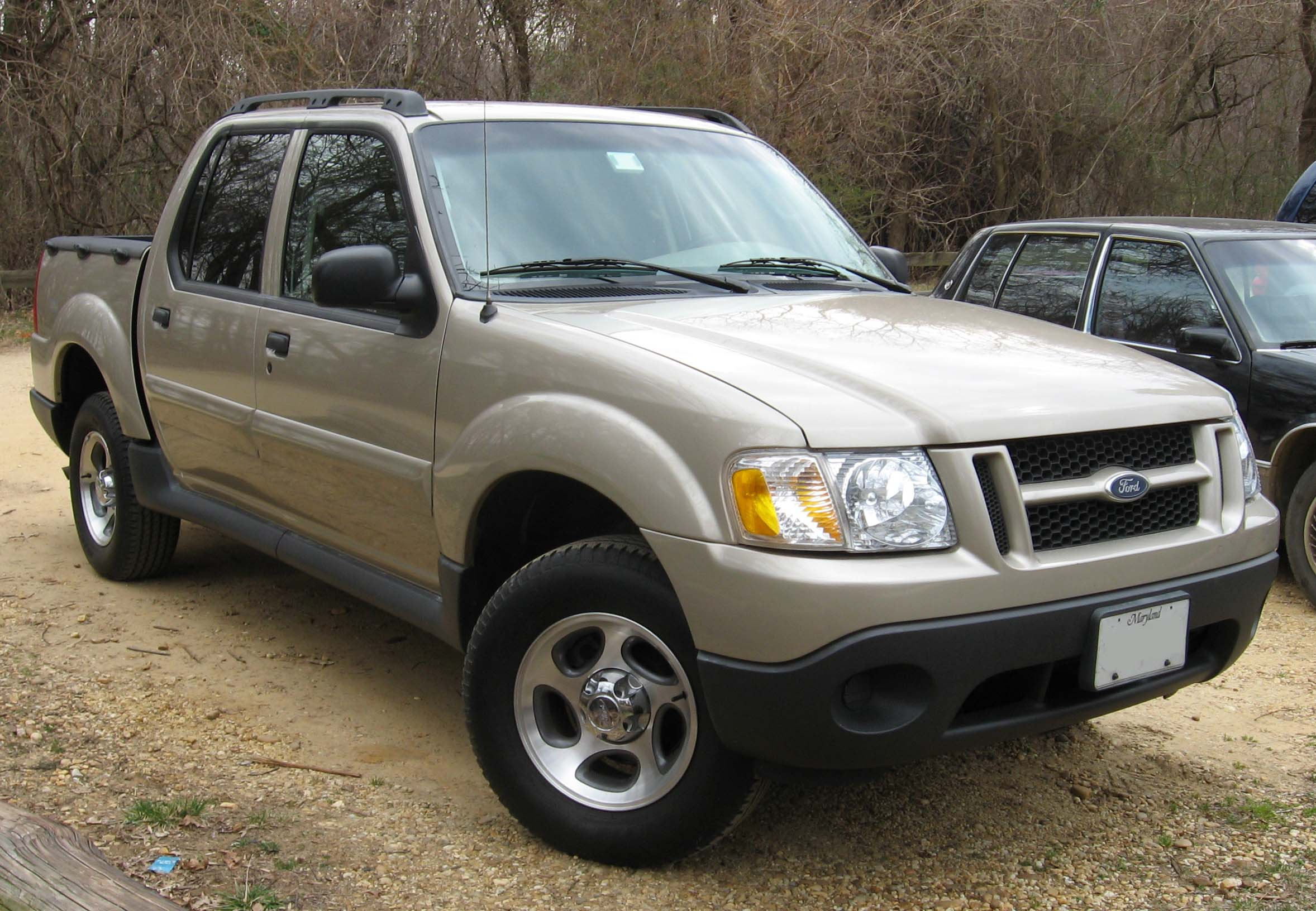 2003 ford explorer sport trac information and photos momentcar. Black Bedroom Furniture Sets. Home Design Ideas
