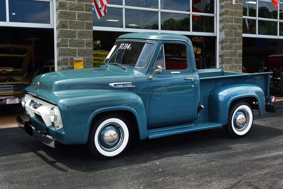1954 Ford F100 Information And Photos Momentcar