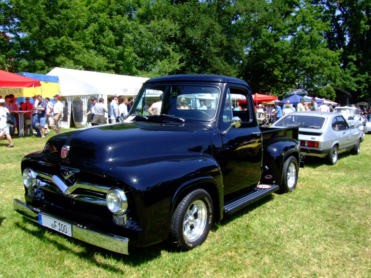 1955 Ford F100 Information And Photos Momentcar Lifted 3
