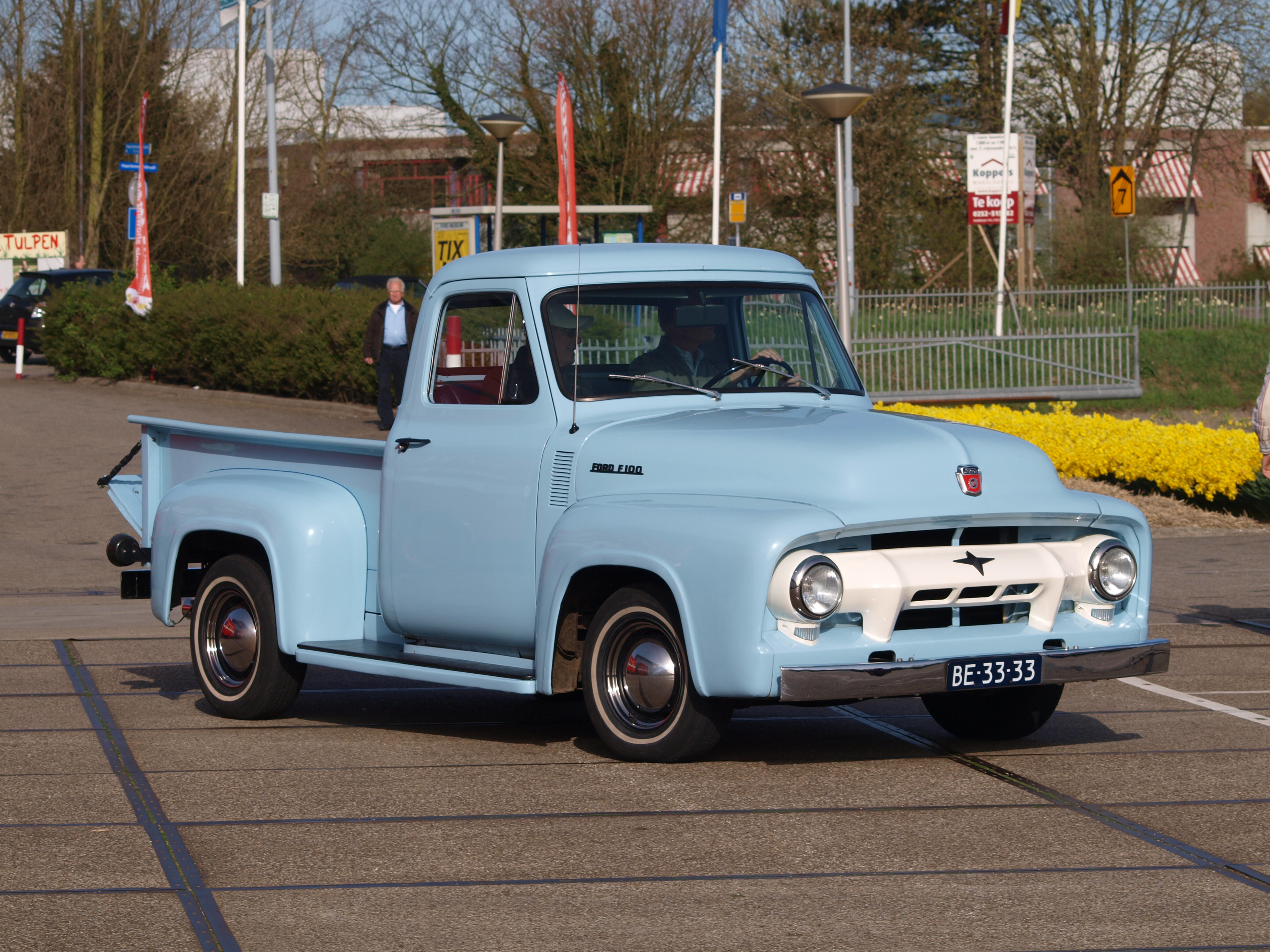 1955 Ford F100 Information And Photos Momentcar Stepside Pickup 4