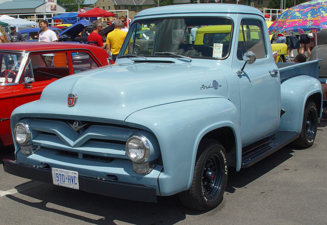 1955 Ford F100 Information And Photos Momentcar F350 Truck 13
