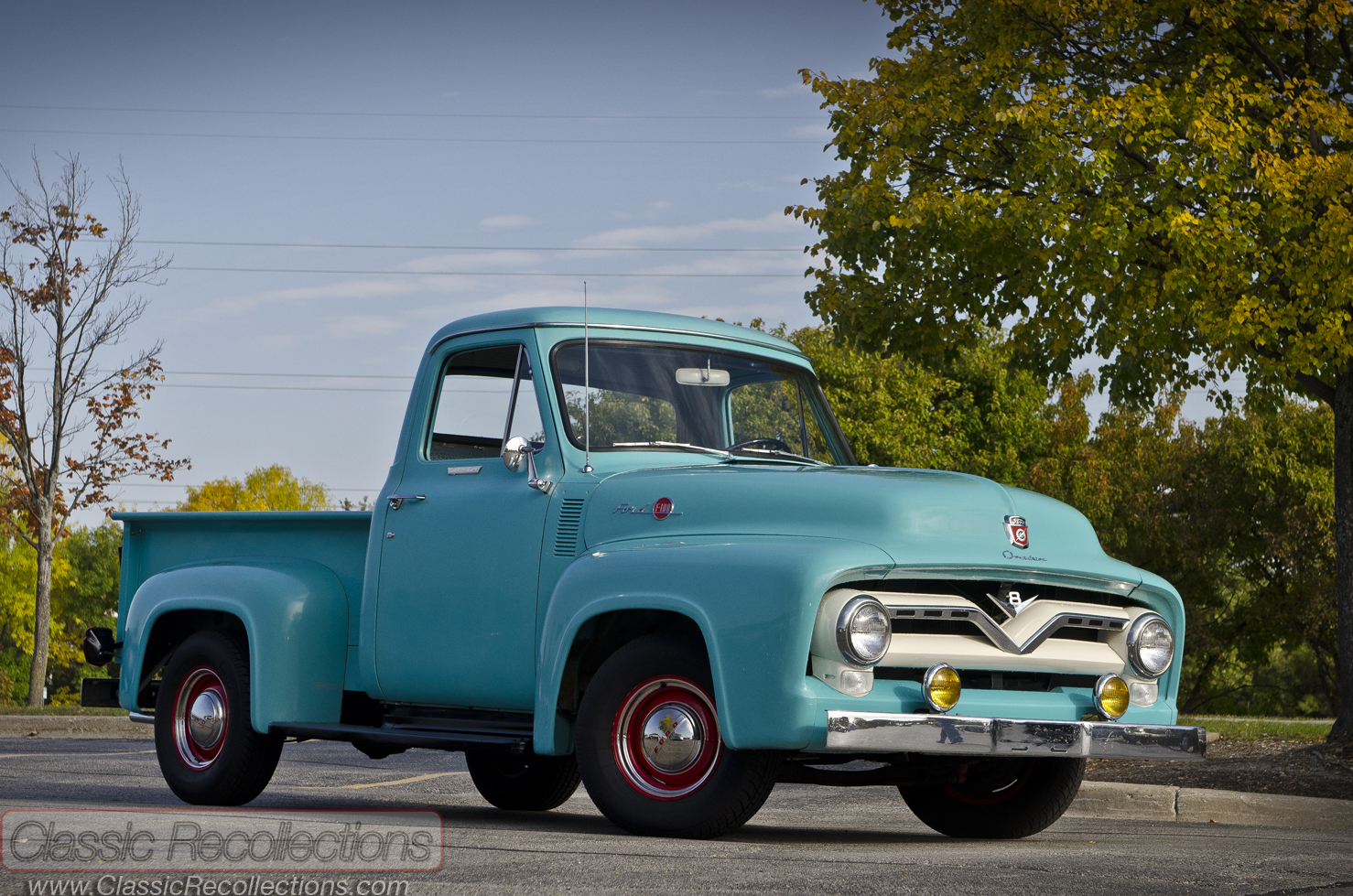 1955 Ford F100 - Information And Photos