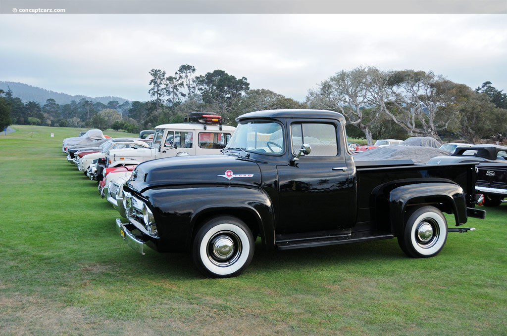 1956 Ford F100 - Information and photos - MOMENTcar  Ford Wiring Diagram on