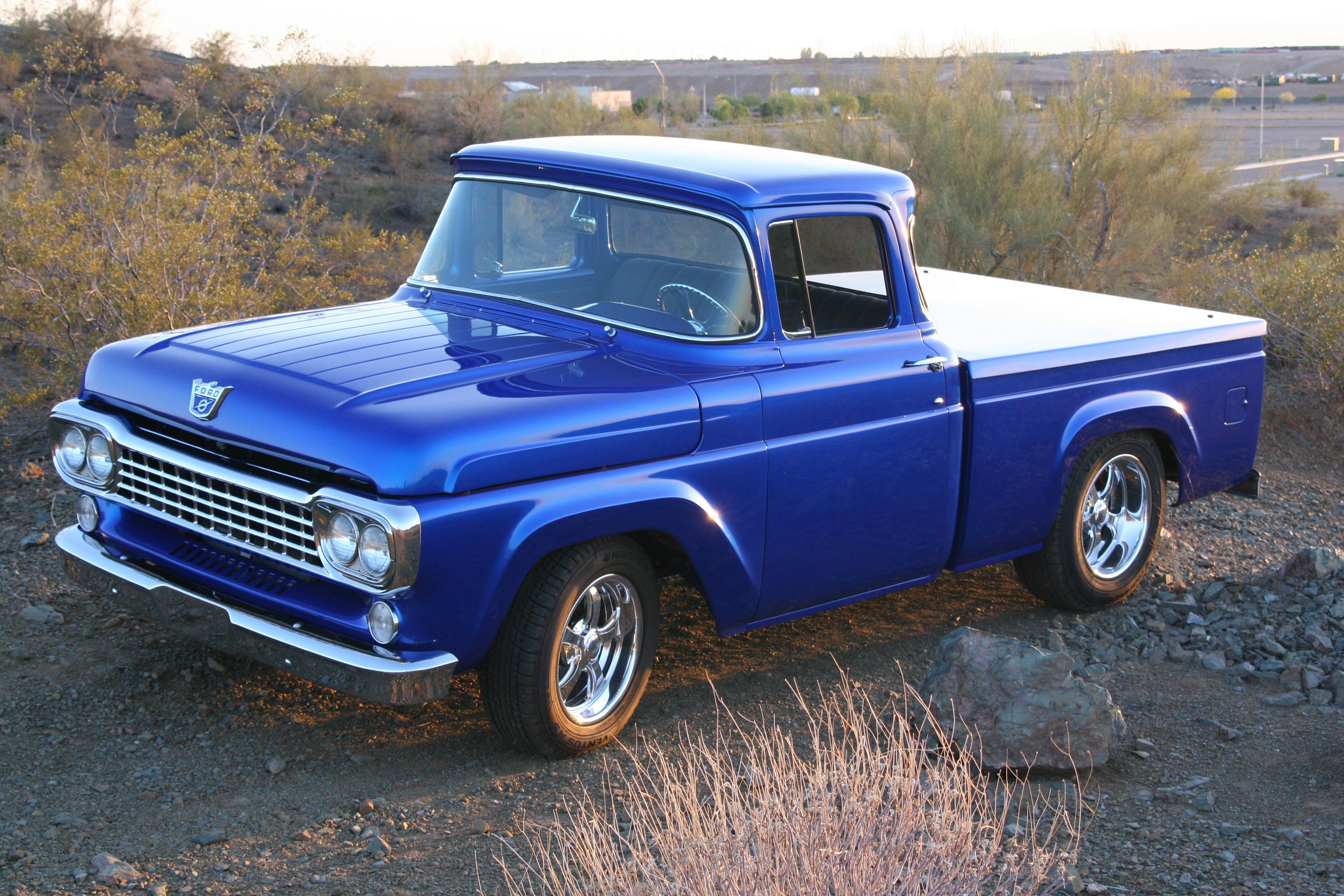 1958 Ford F100 Information And Photos Momentcar