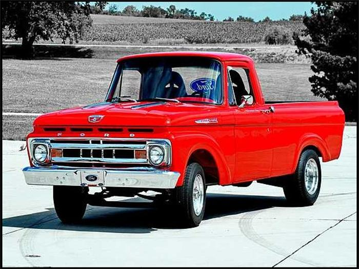 1961 ford f100 information and photos momentcar. Black Bedroom Furniture Sets. Home Design Ideas