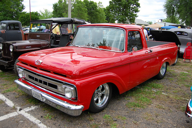 2010 Lexus Truck >> 1962 Ford F100 - Information and photos - MOMENTcar