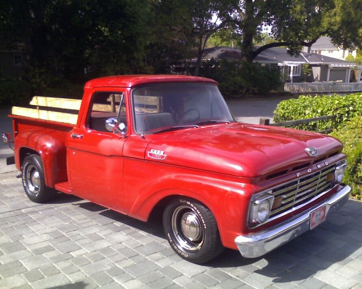 1963 Ford F100 Information And Photos Momentcar
