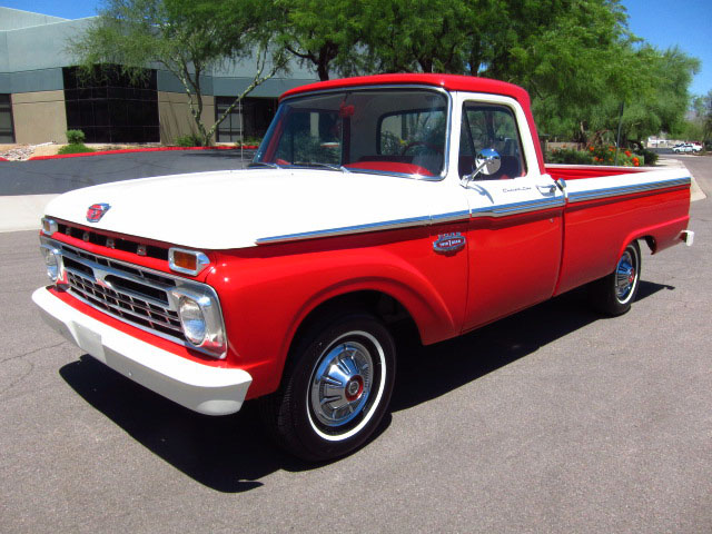 1966 Ford F100 Information And Photos Momentcar