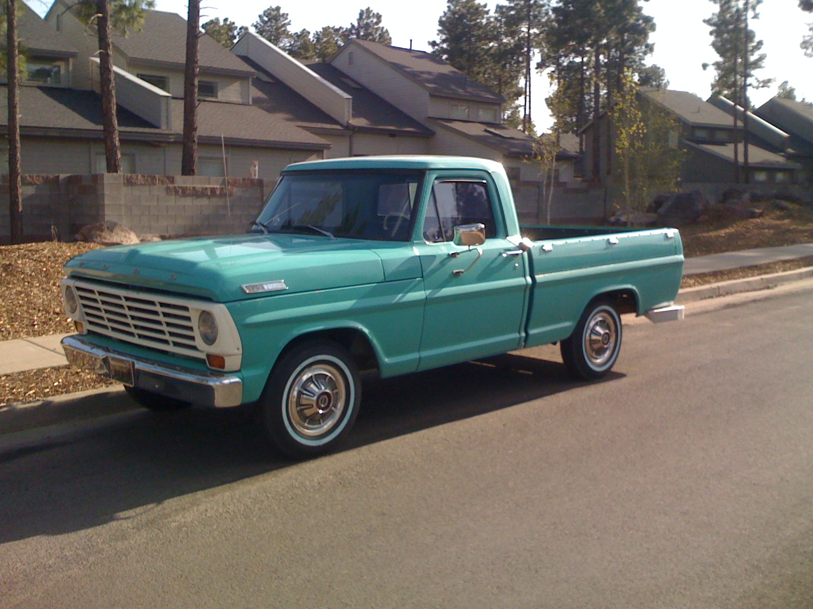 1967 Ford F100  Information and photos  MOMENTcar