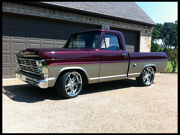 1968 Ford F100 Information And Photos Momentcar