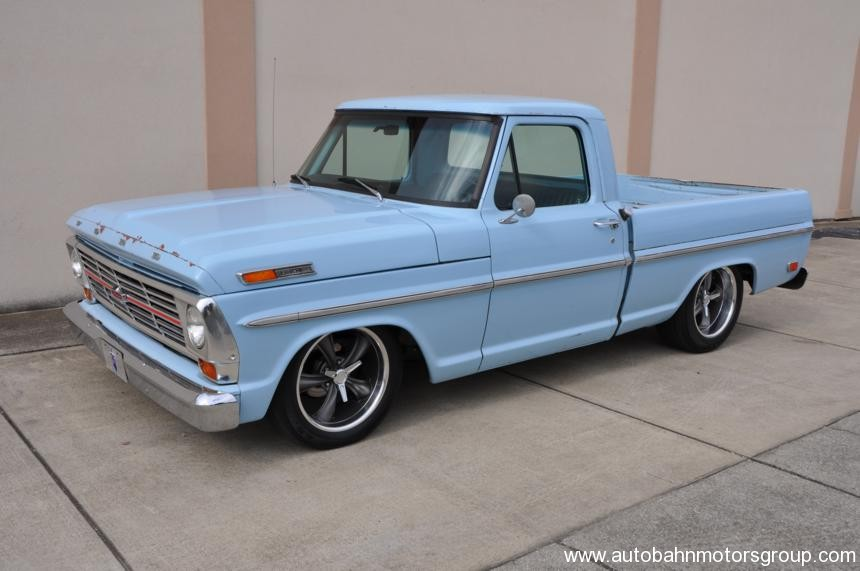 1969 ford f100 information and photos momentcar