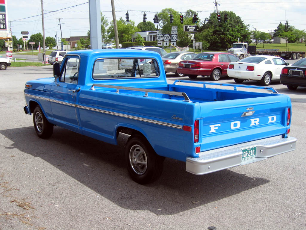 1970 Ford F100 Information And Photos Momentcar Stepside 14