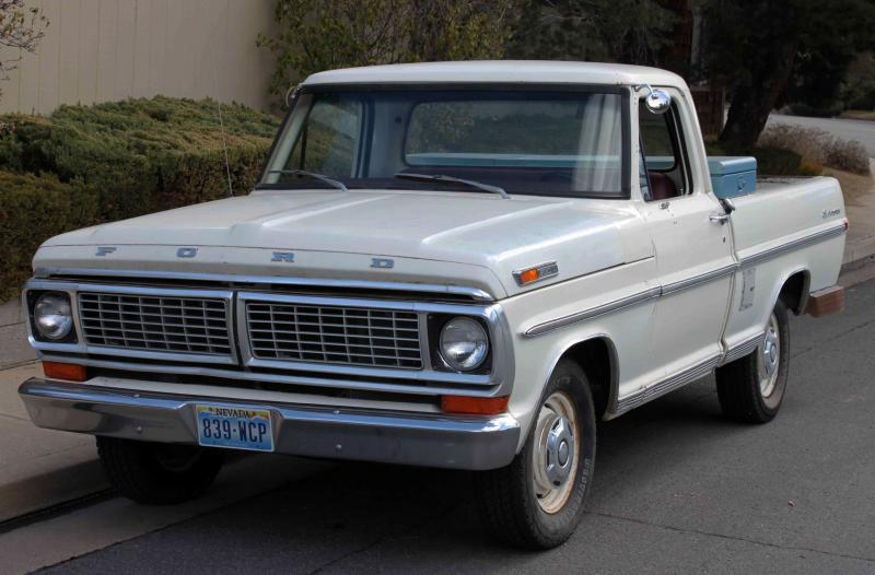 FORD F100 - 59px Image #5
