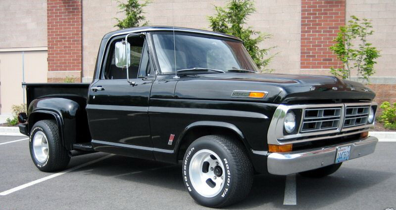 Ford Truck Long Bed Step Side