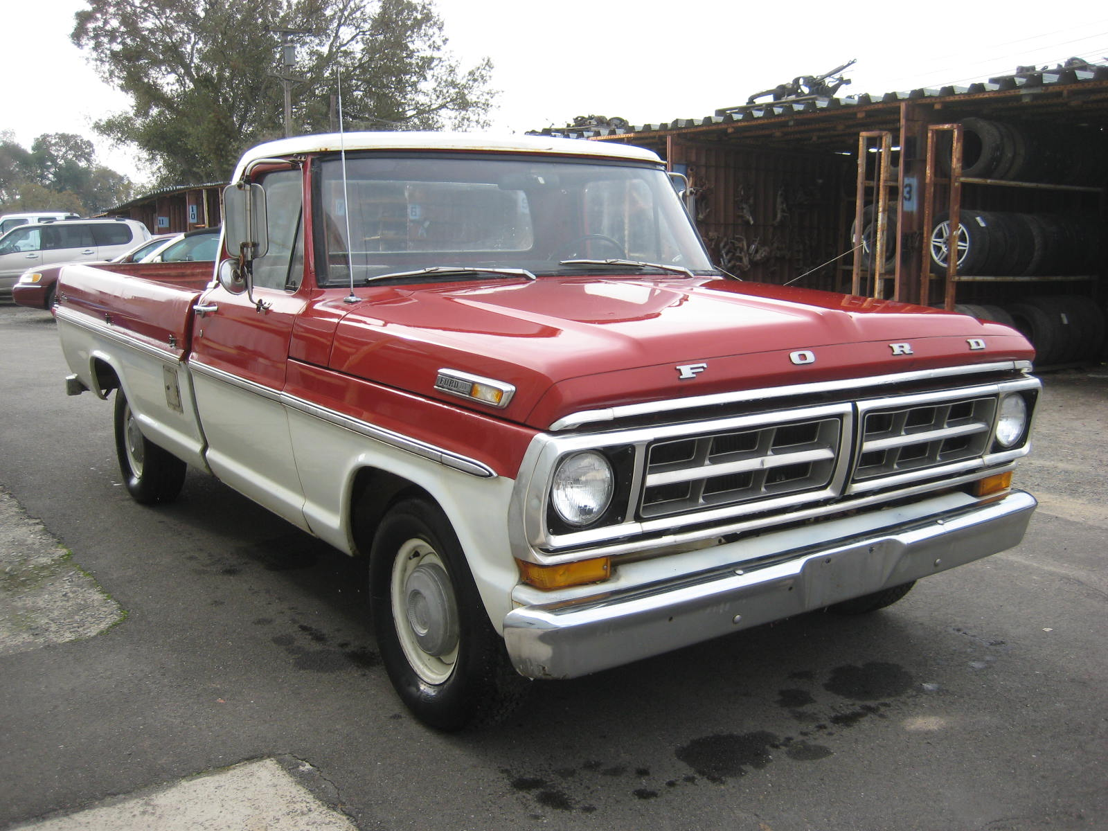1971 Ford F100 - Information and photos - MOMENTcar