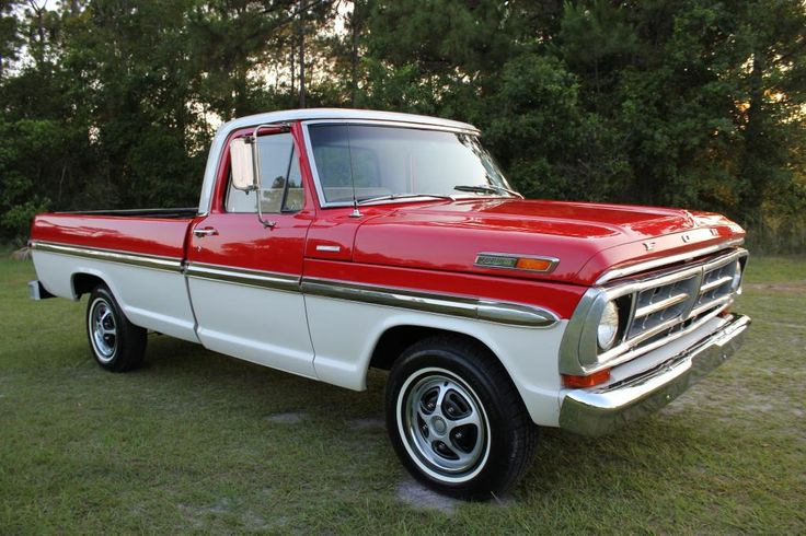Ford F100 on gmc dump trucks sale