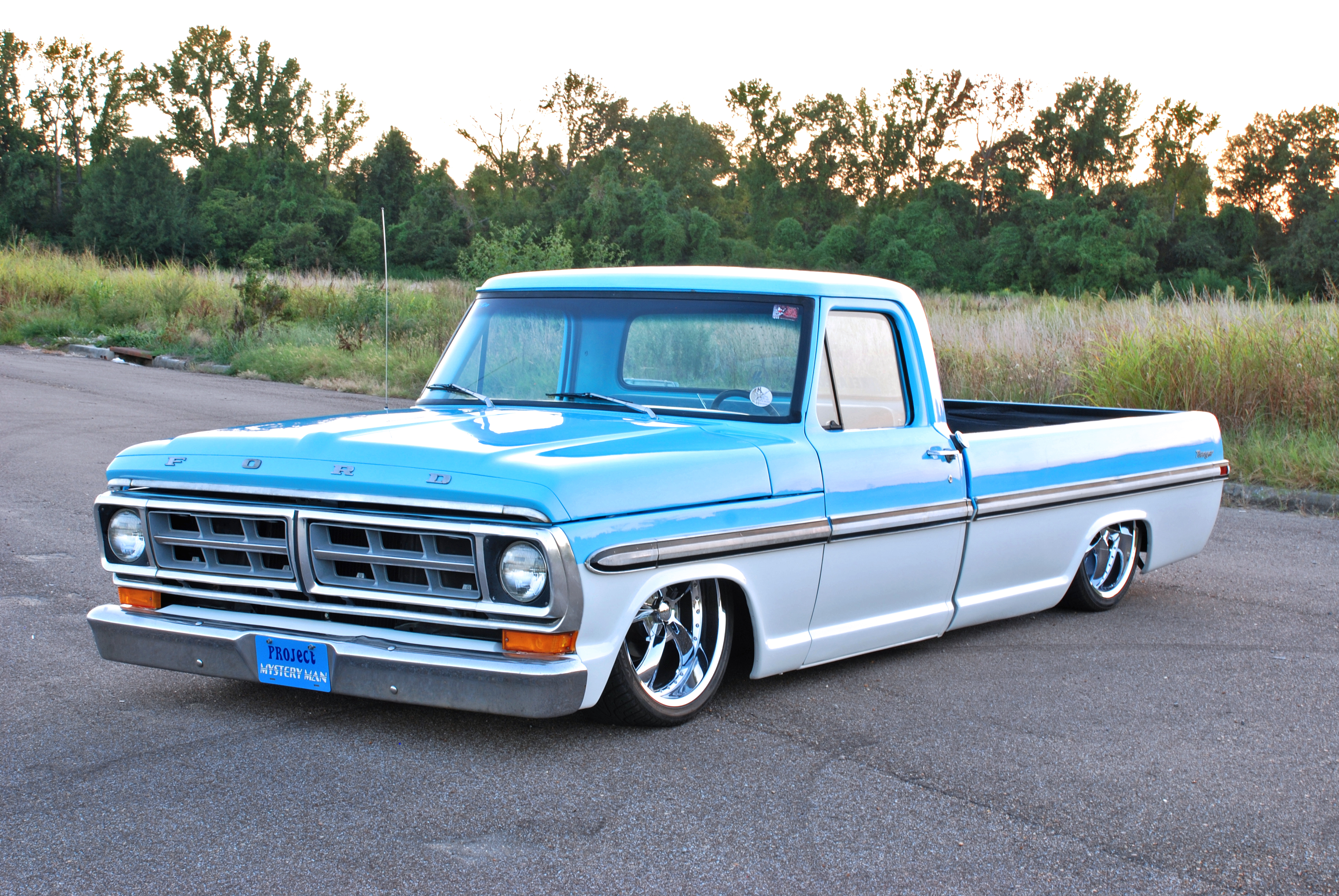Slammed Ford Ranger >> 1972 Ford F100 - Information and photos - MOMENTcar