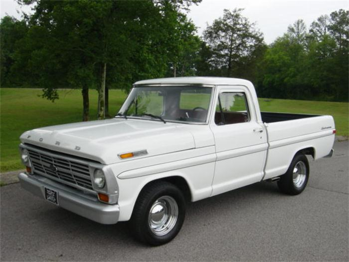 Who Makes Cadillac >> 1972 Ford F100 - Information and photos - MOMENTcar