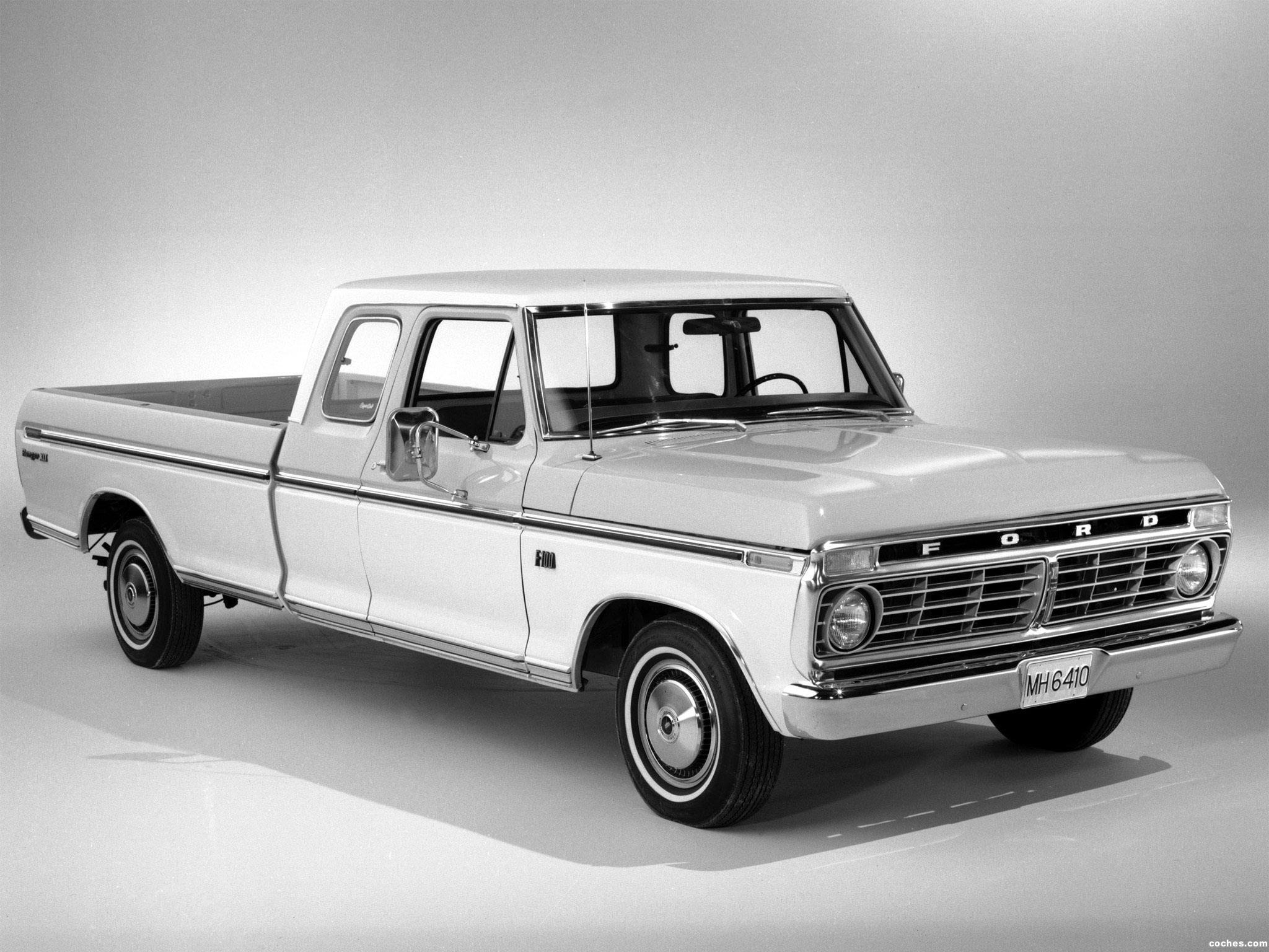 1974 Ford F100 Information And Photos Momentcar 1969 Ranger Xlt 8