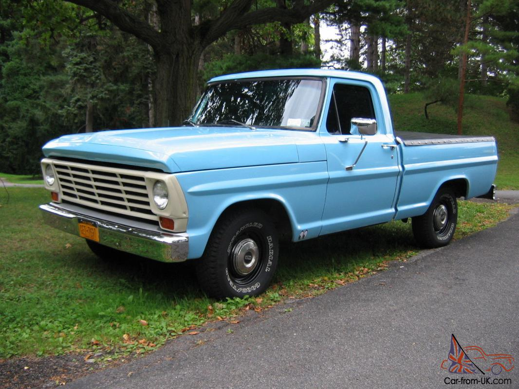 1975 Ford F100 Information And Photos Momentcar