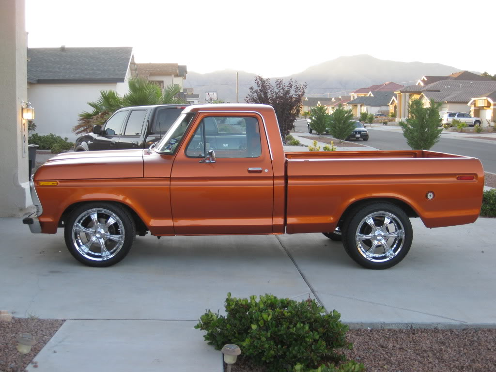 1976 Ford F100 Information And Photos Momentcar