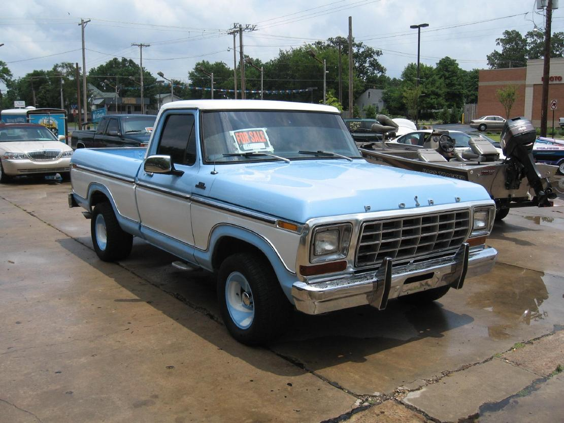 1978 Ford F150 - Information and photos - MOMENTcar