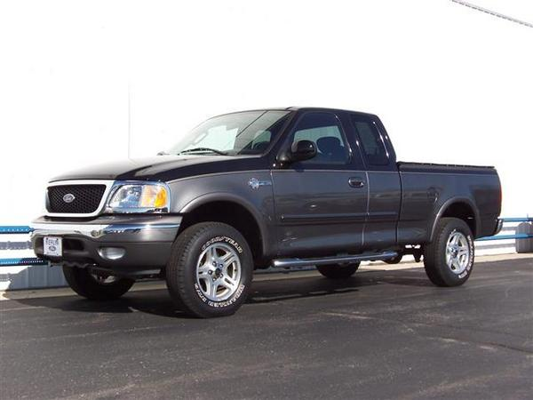 2004 ford f 150 heritage information and photos momentcar. Black Bedroom Furniture Sets. Home Design Ideas