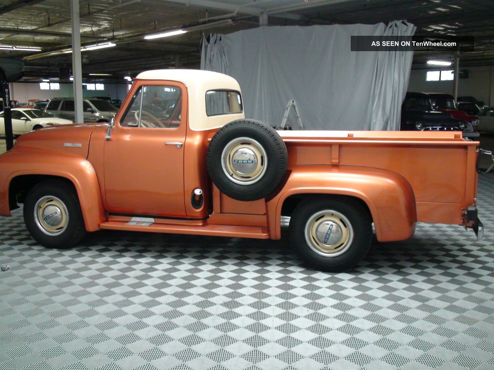 Ford f250 1954 6 ford f250 1954 6