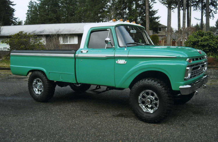 1957 Ford F250 - Information and photos - MOMENTcar