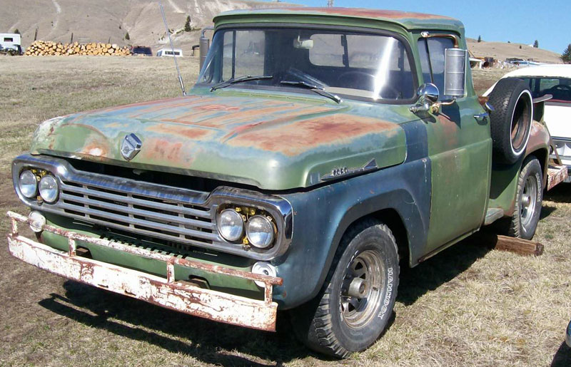 1958 Ford F250 Information And Photos Momentcar