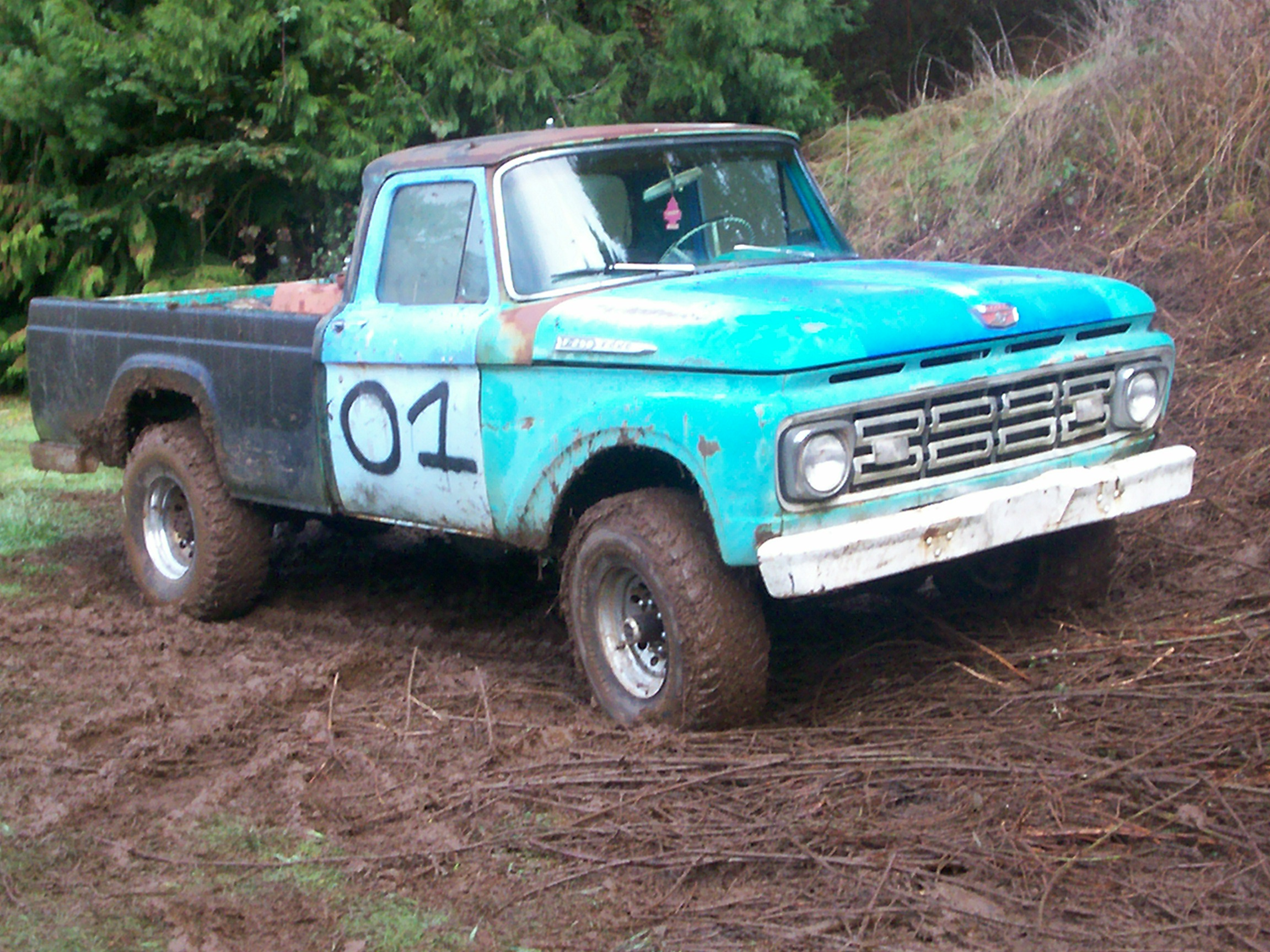 1961 Ford F250 Information And Photos Momentcar F 250 4x4 Truck For Sale 4