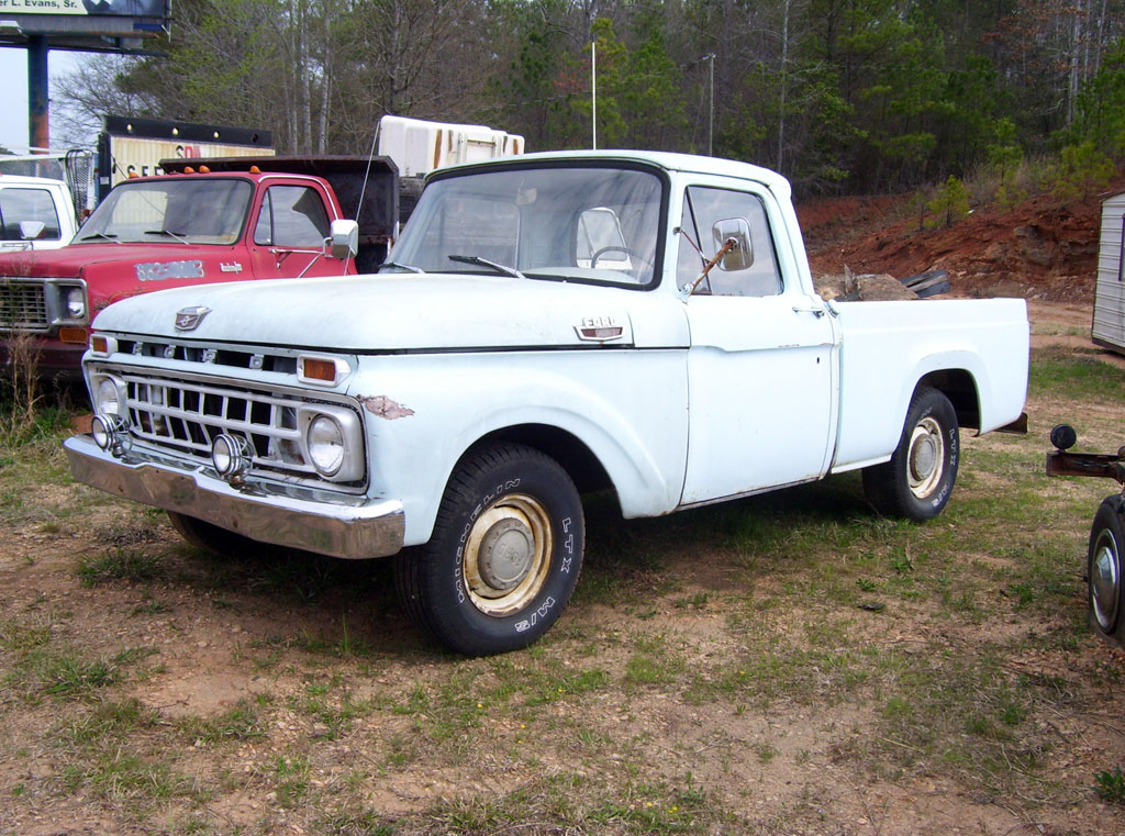 1961 Ford F250 Information And Photos Momentcar