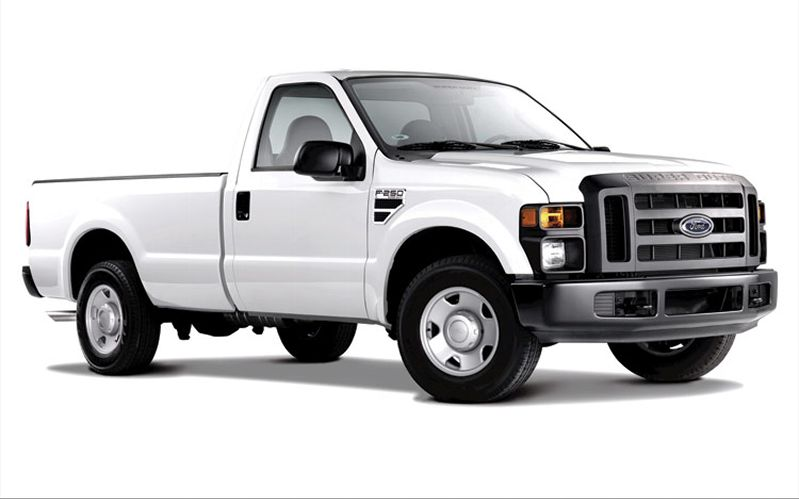 Ford F-250 Work #4