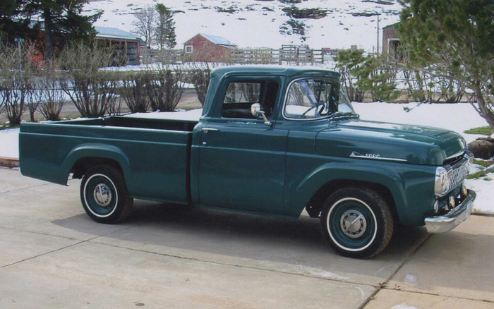 1958 Ford F350 Information And Photos Momentcar
