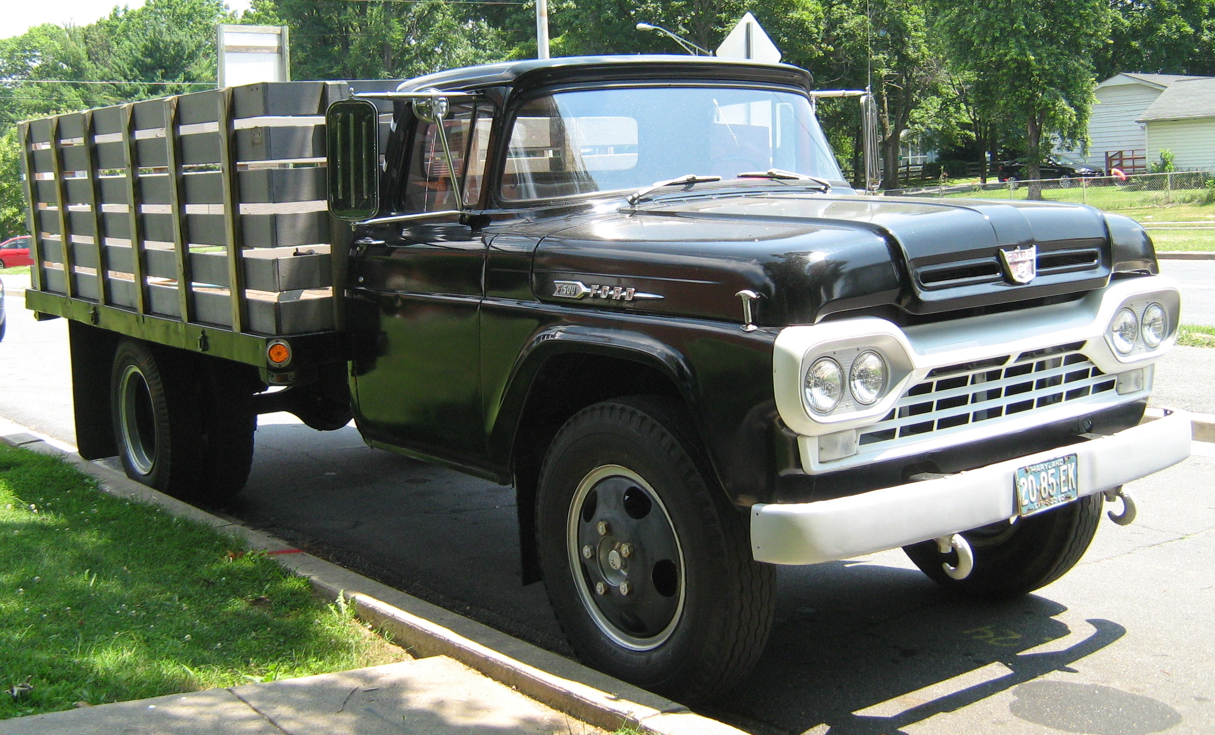 1959 Ford F350 Information And Photos Momentcar