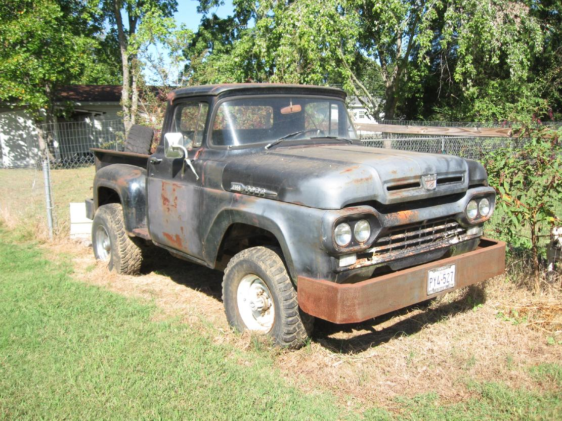 1960 Ford F350 - Information and photos - MOMENTcar