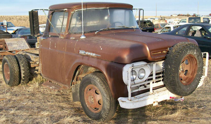 1962 Ford F350 - Information and photos - MOMENTcar  Ford Truck Wiring Diagram on