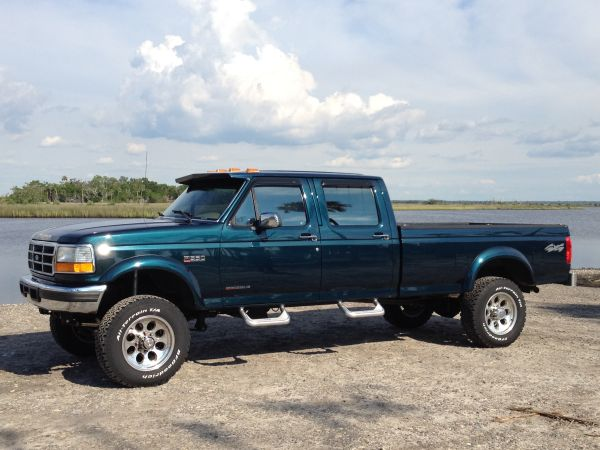 1996 f350 dually lifted