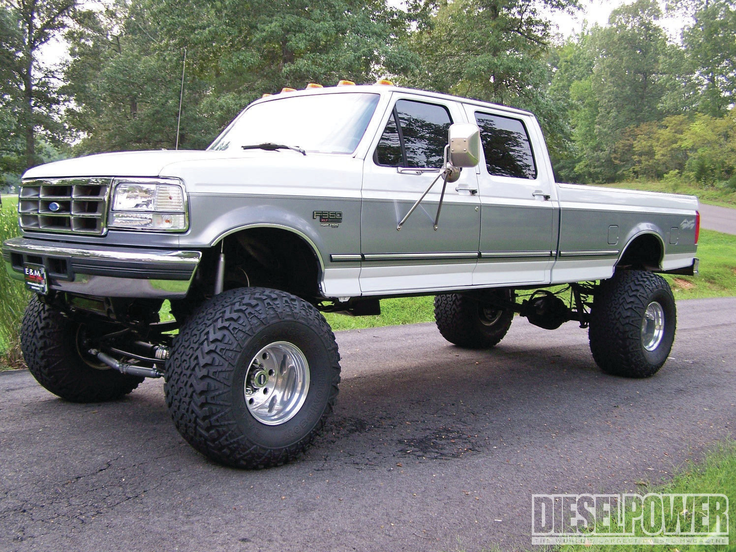 97 ford f350 lift kit